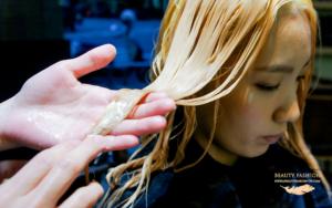 夏森髮型、台中燙髮推薦、溫塑燙髮、髮色還原