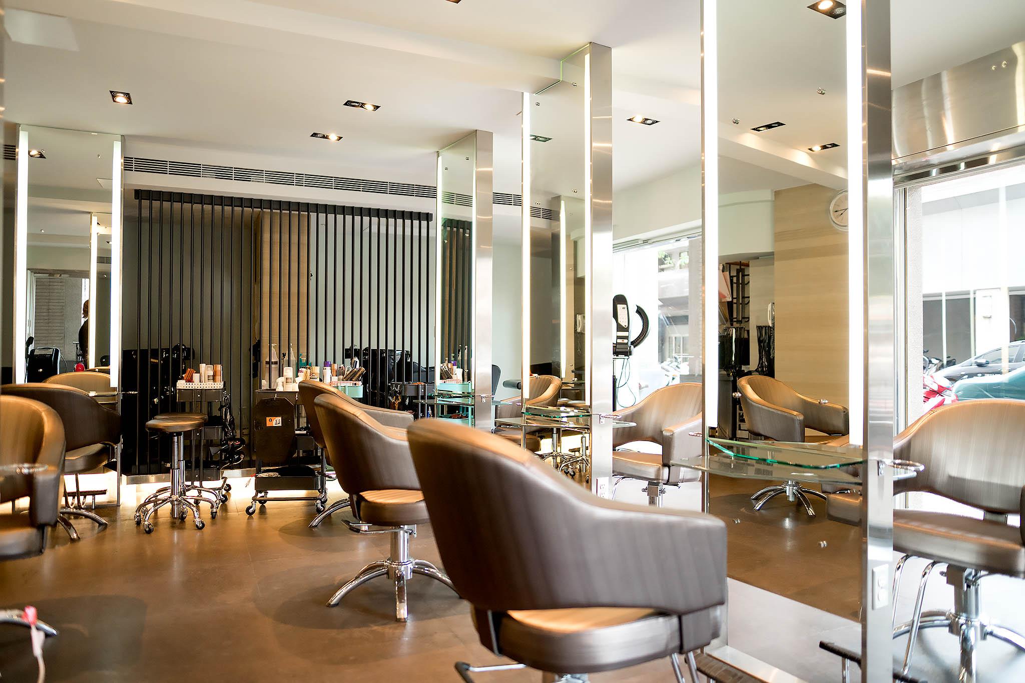 夏森髮型、寧夏路、北歐風髮廊