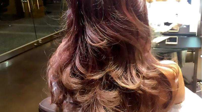 夏森髮型、台中護髮、電棒燙捲