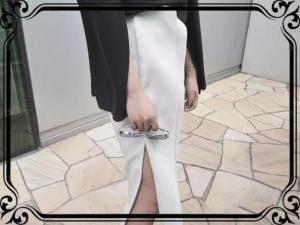 黑白系列、黑白潮流、黑白穿搭、黑白裙裝