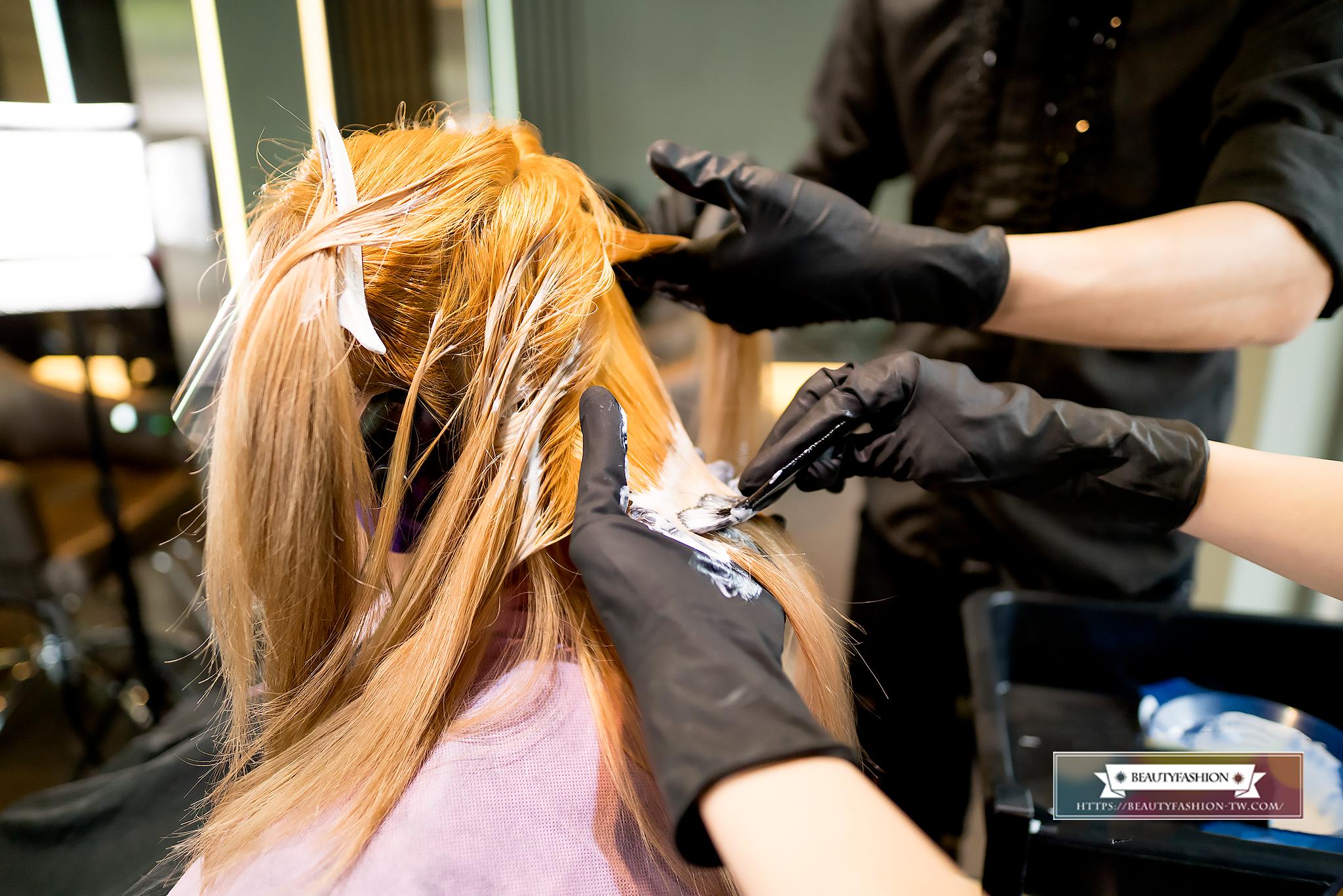 韓系染髮、霧透色系、台中美髮、夏森髮型