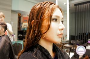 夏森髮型、台中燙髮、燙後護髮