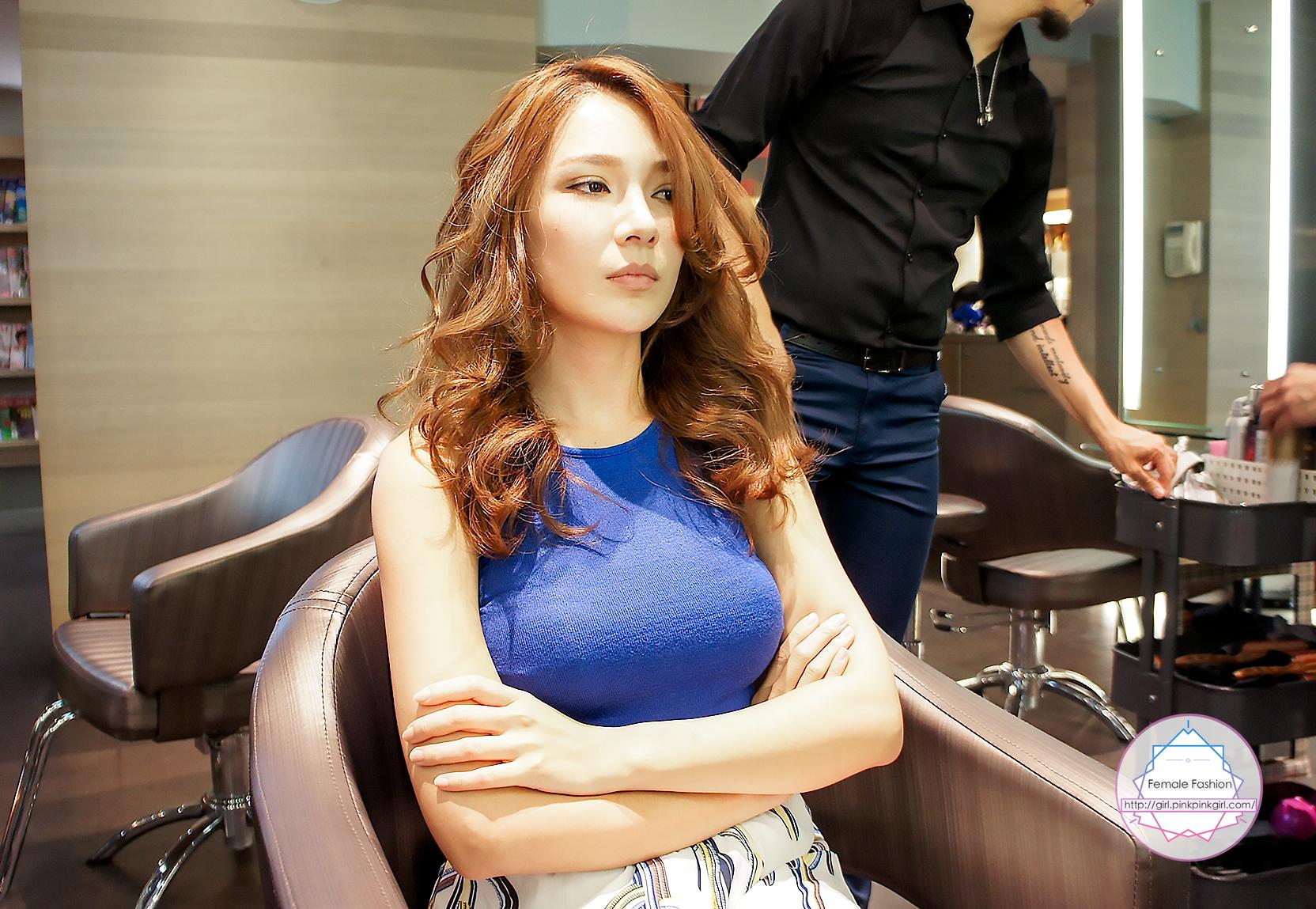 夏森髮型、台中燙髮、造型吹整,燙髮推薦