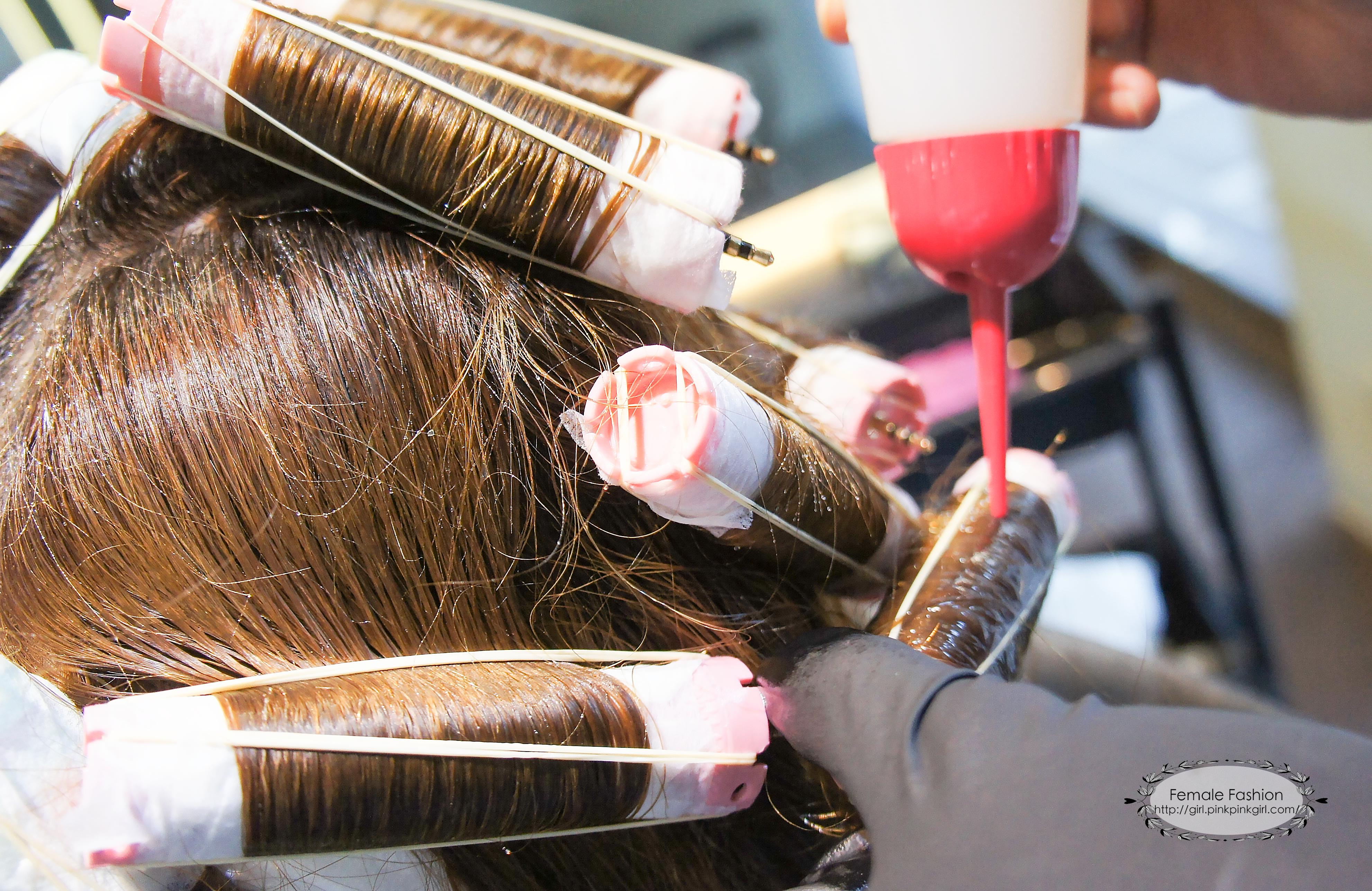 台中燙髮、夏森髮型、溫塑燙燙髮