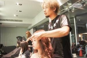 台中燙髮、夏森髮型、造型吹整