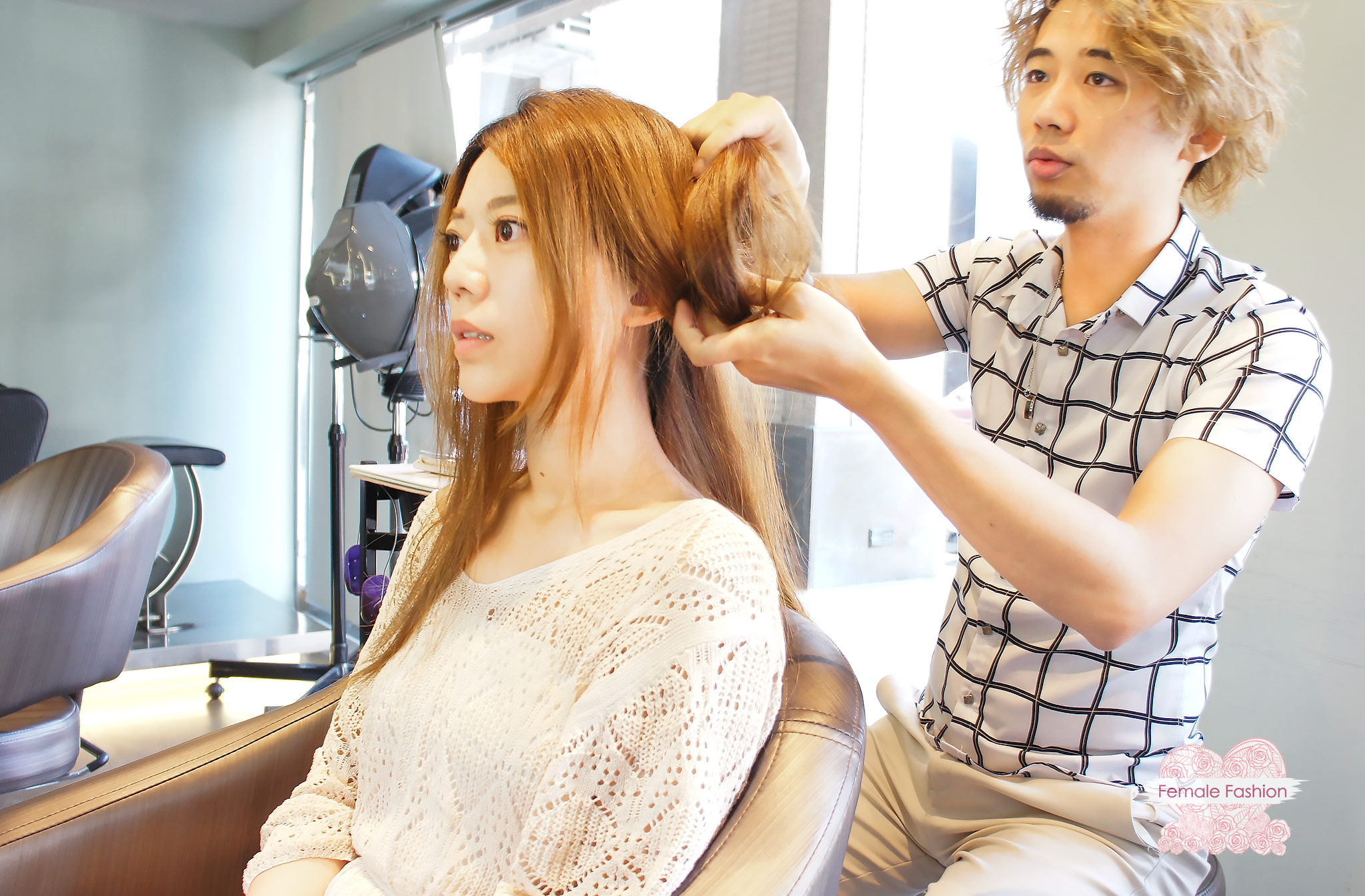 夏森髮型、染髮推薦、髮型討論