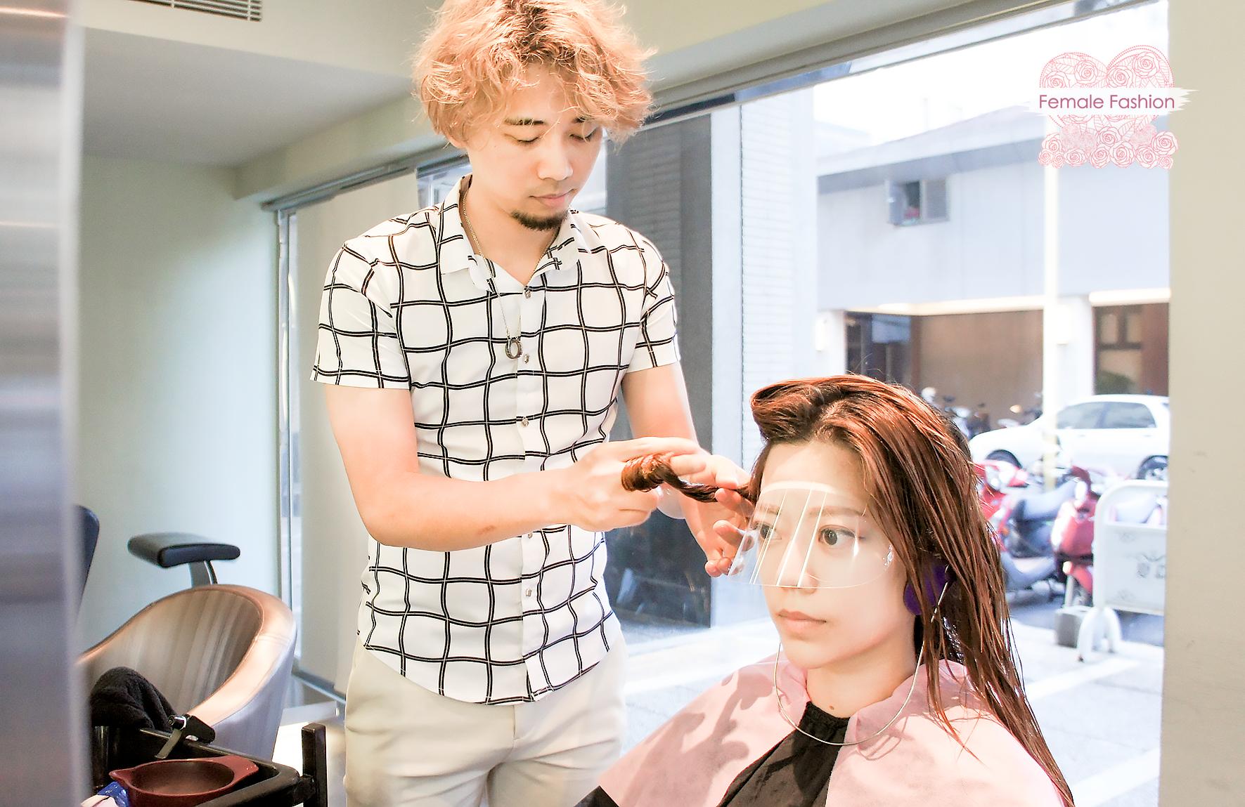 夏森髮型、染髮推薦、染前護髮