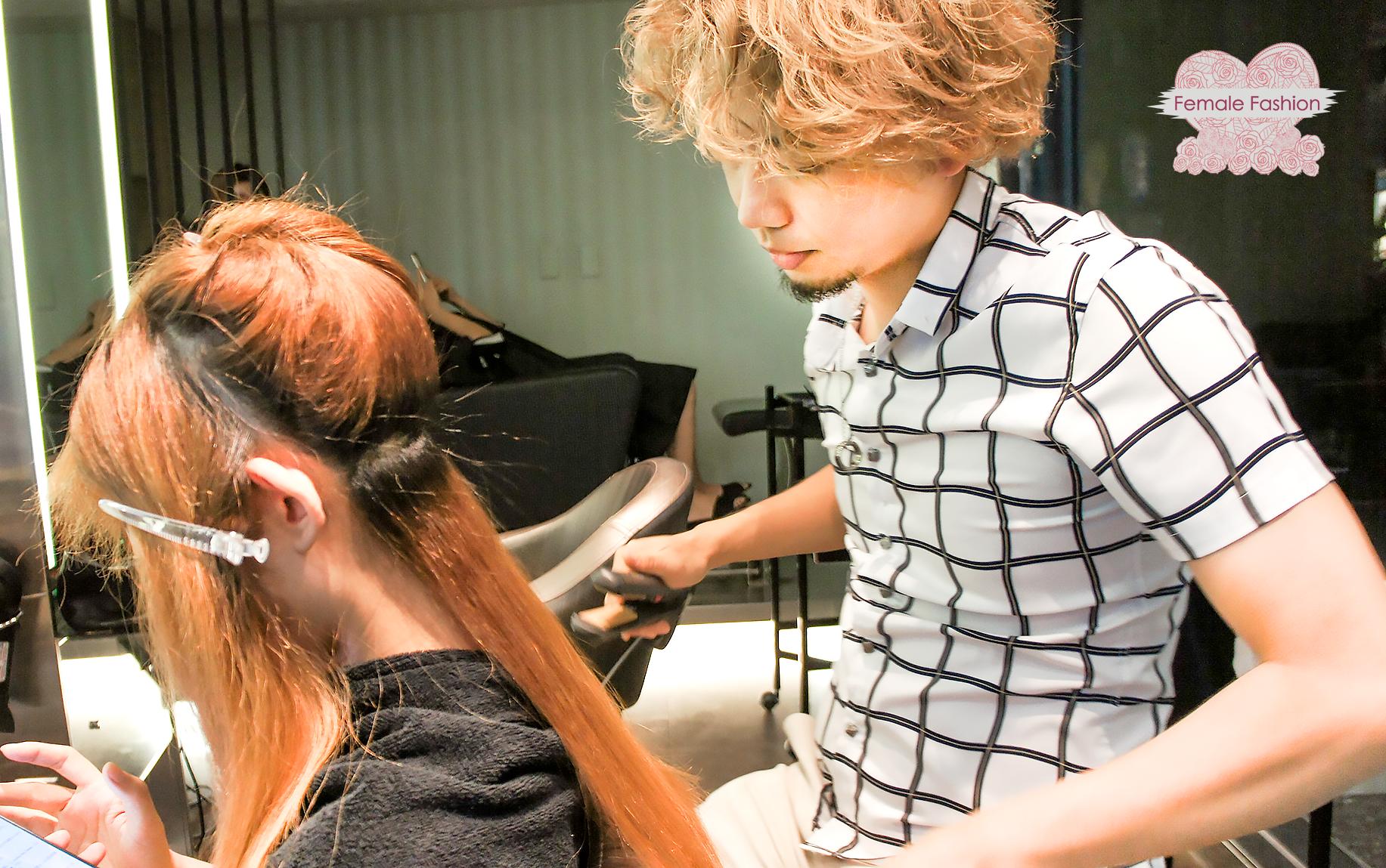 夏森髮型、染髮推薦、接色染髮