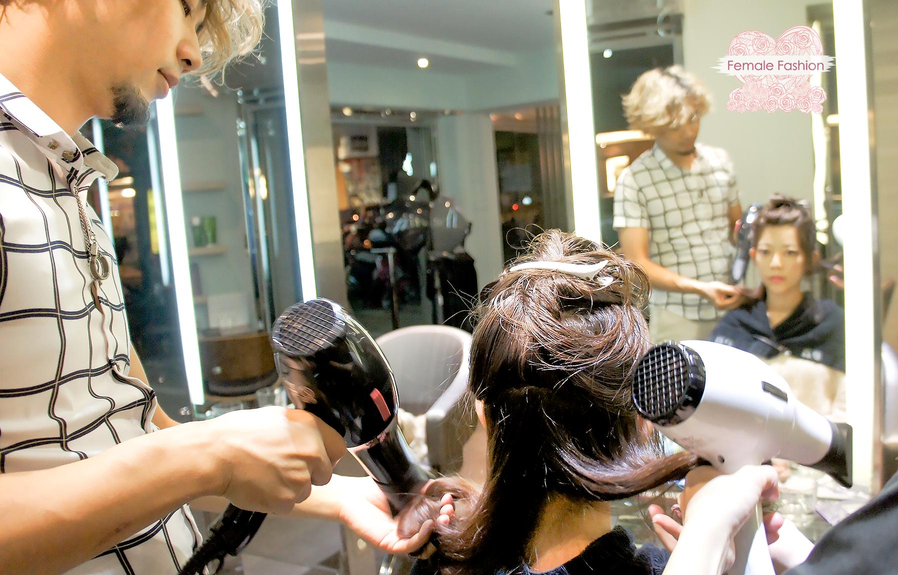 夏森髮型、染髮推薦、造型吹整