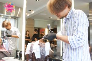 夏森髮型、台中美髮沙龍、台中染髮