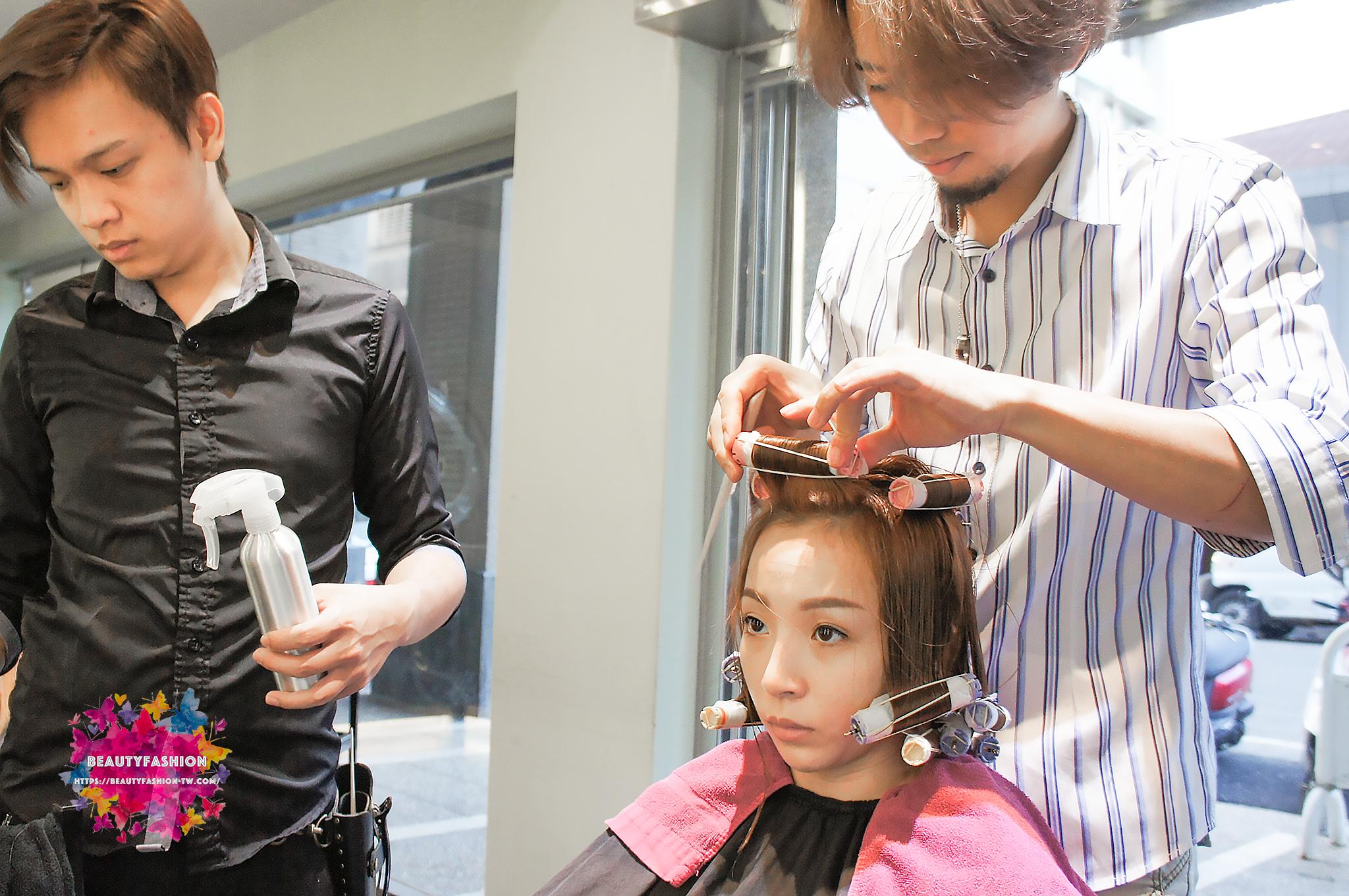 夏森髮型,台中西屯美髮,燙髮推薦,空氣捲
