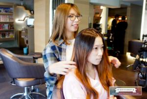夏森燙髮、台中美髮、台中燙髮、造型討論