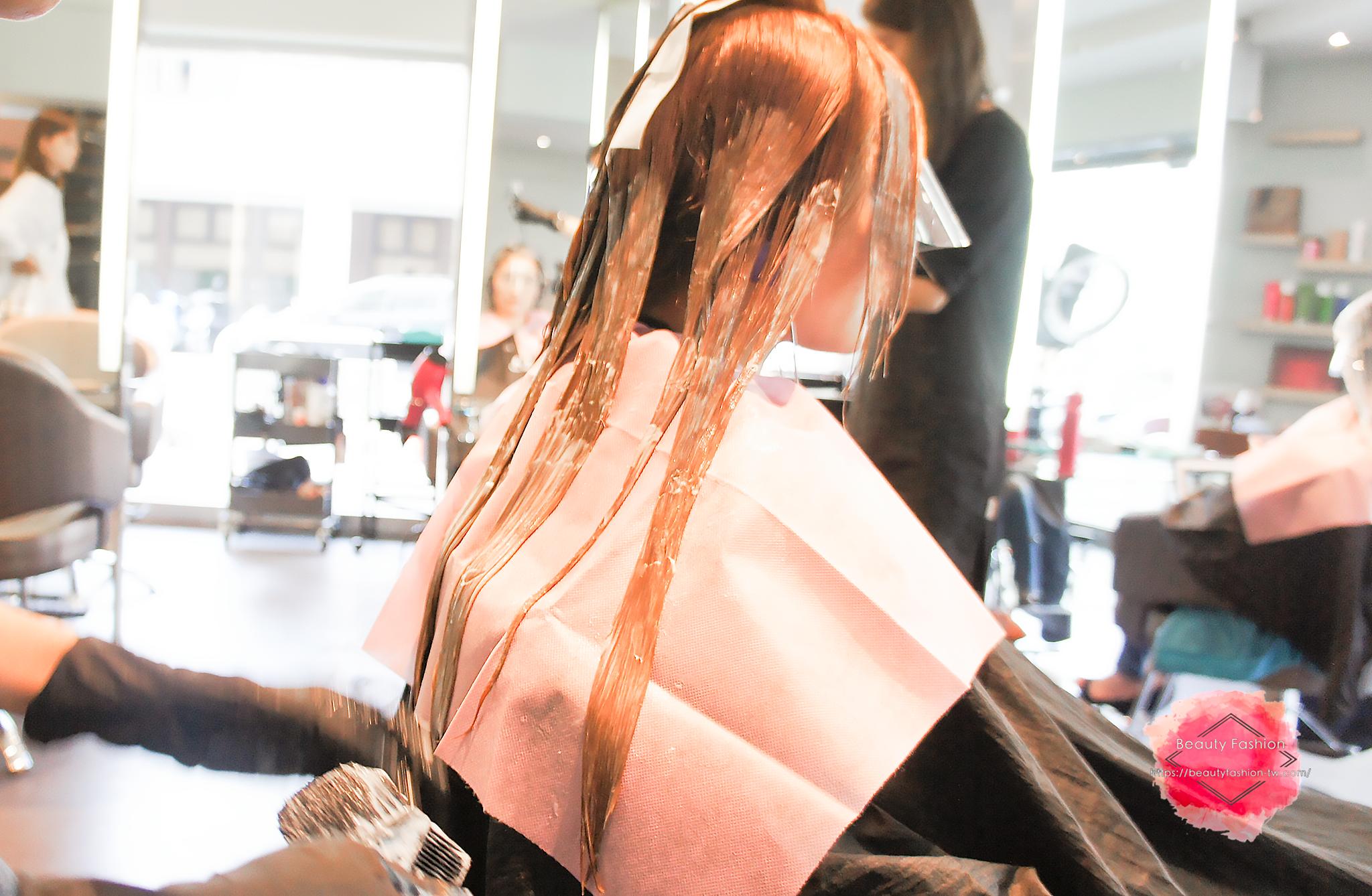 台中燙髮,夏森髮型,染髮