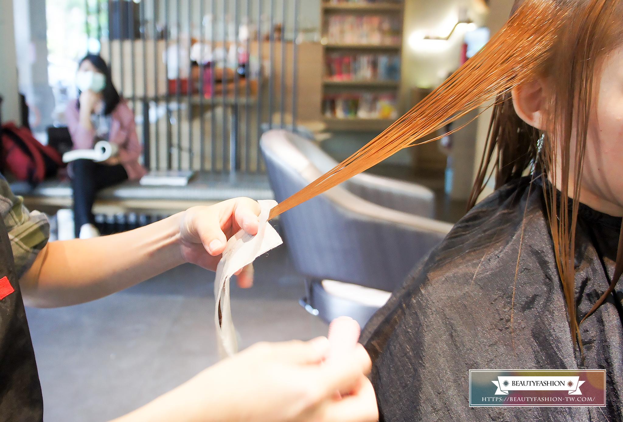 夏森燙髮、台中美髮、台中燙髮、上捲子