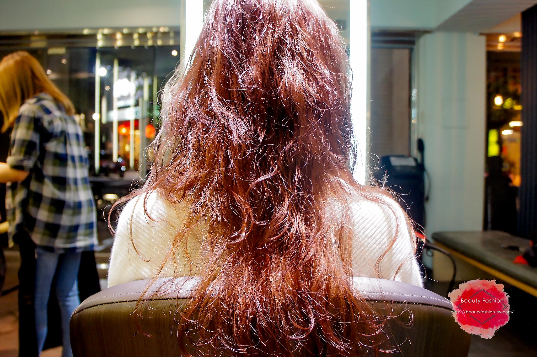 台中燙髮,夏森髮型,造型吹整