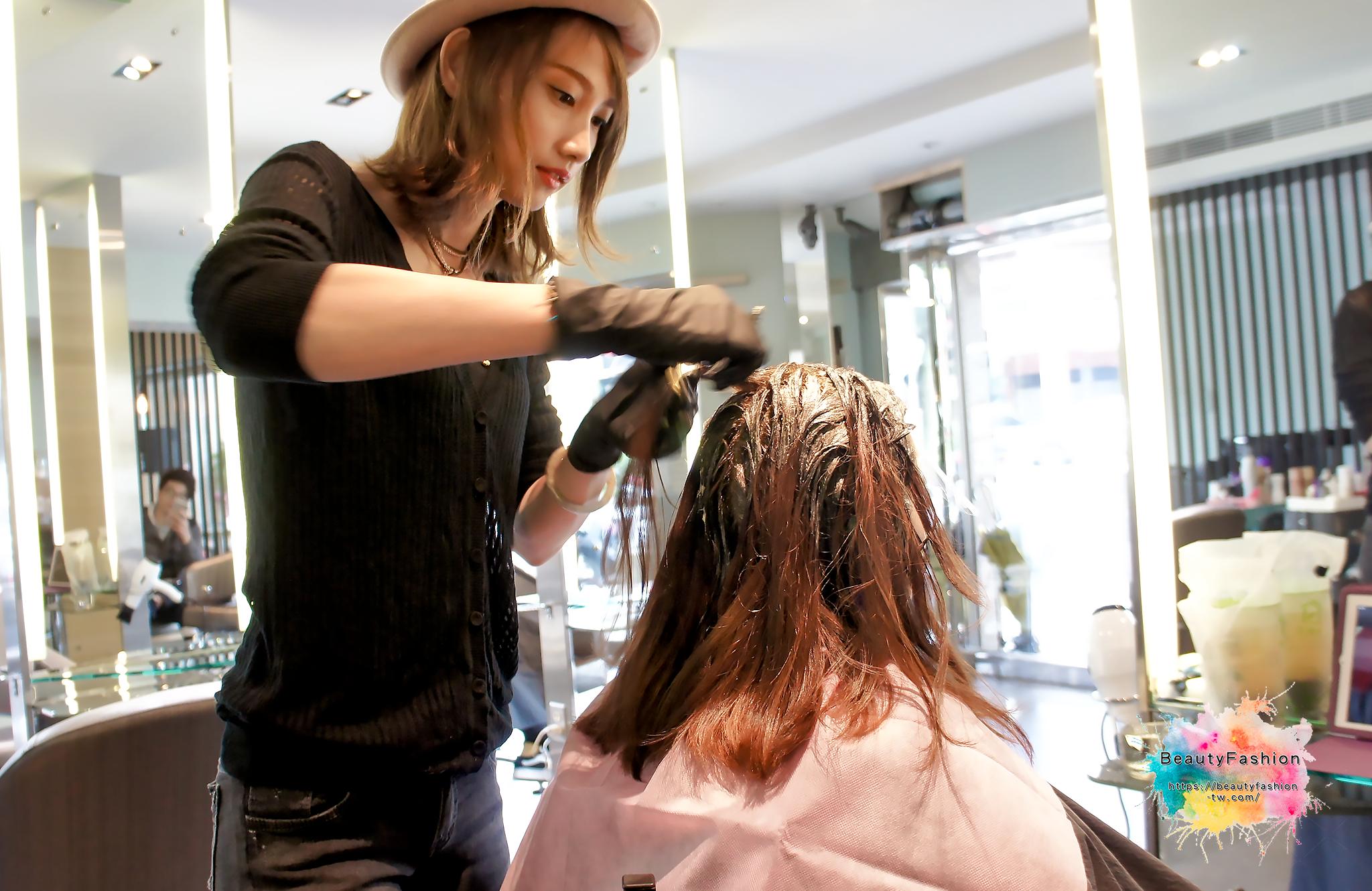 夏森髮型、韓系髮型、空氣劉海、台中燙髮推薦