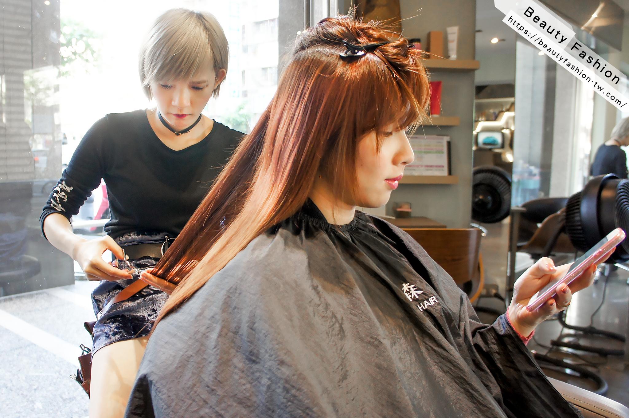 夏森髮型、台中髮廊、北歐風質感