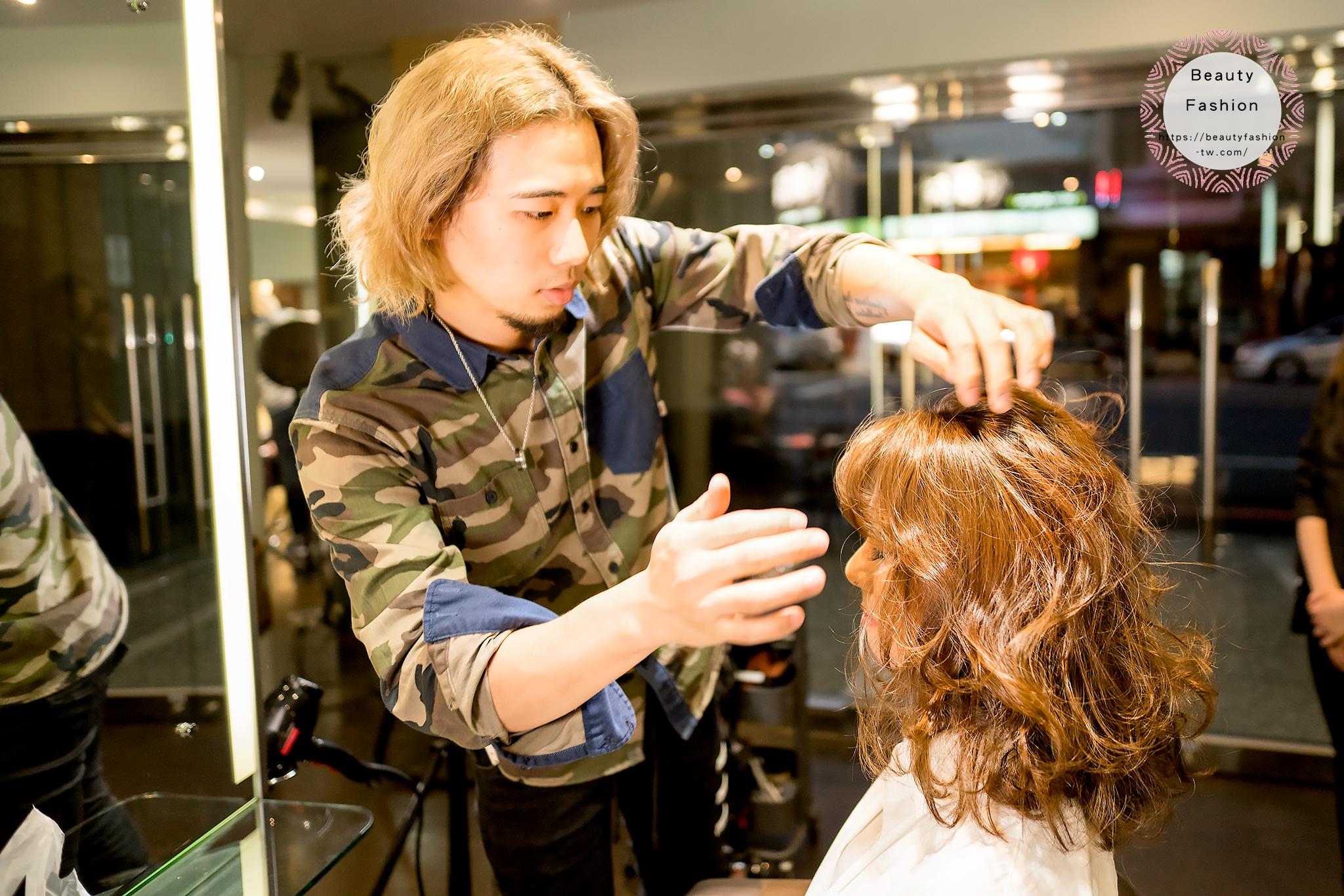 夏森髮型、台中燙髮、台中染髮